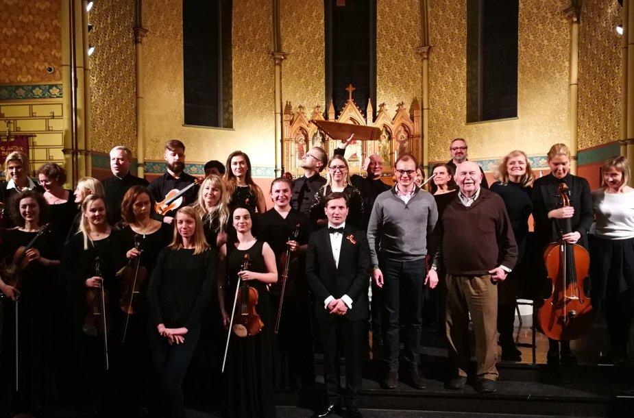 Po koncerto St. James katedroje