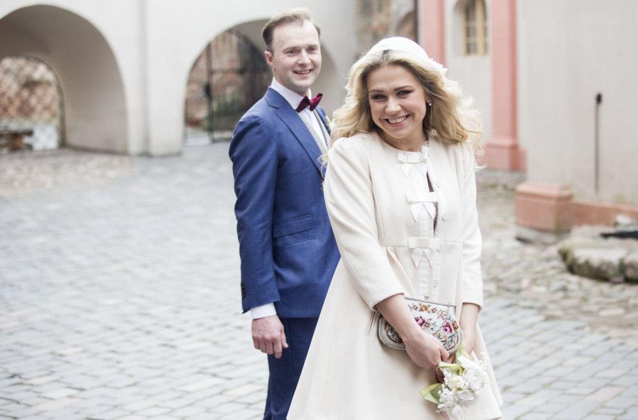Remigijus Jančauskas ir Kotryna Daujotaitė