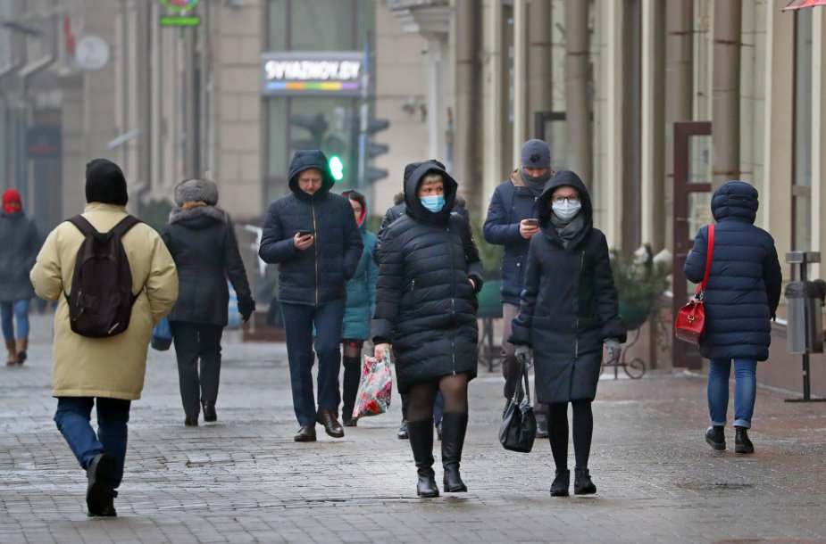 Minskas per pandemiją