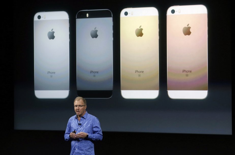 """iPhone SE"" pristatymas"