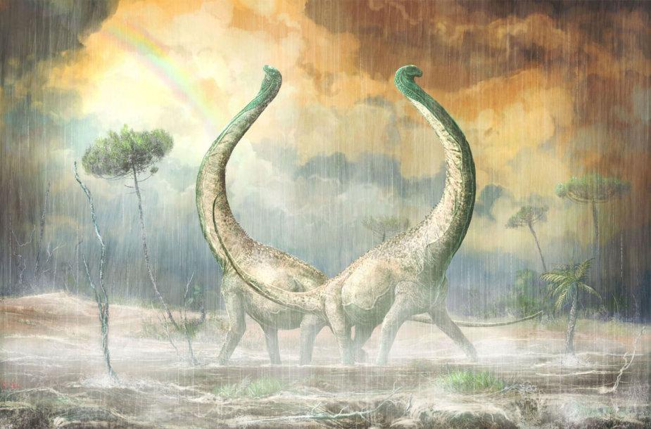 Kreidos periodo dinozaurai Mnyamawamtuka