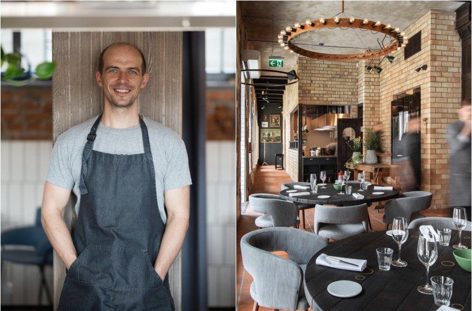 Vytautas Samavičius atidarė naują restoraną sostinėje