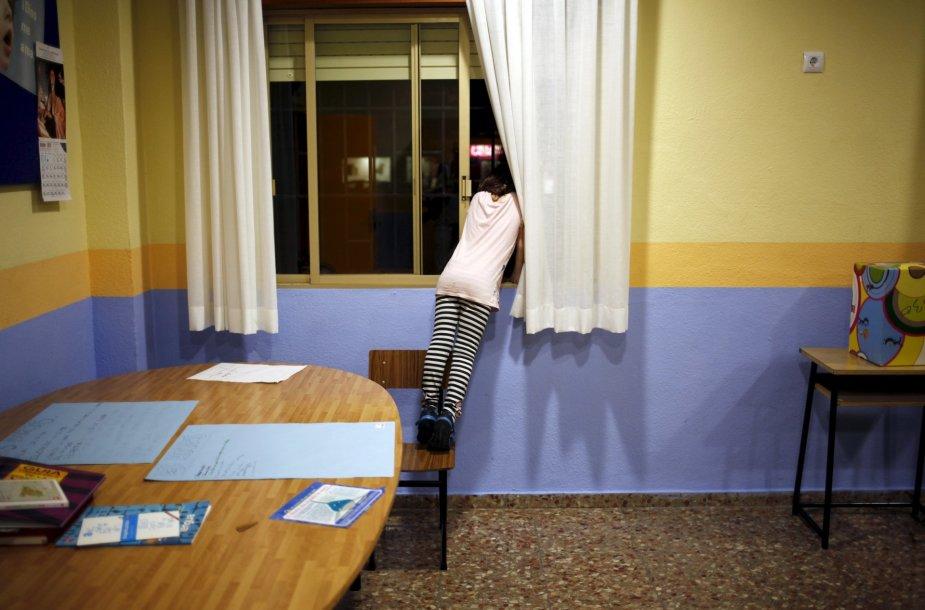Ispanijos skurde gyvenantys vaikai pagalbos sulaukia iš Carito