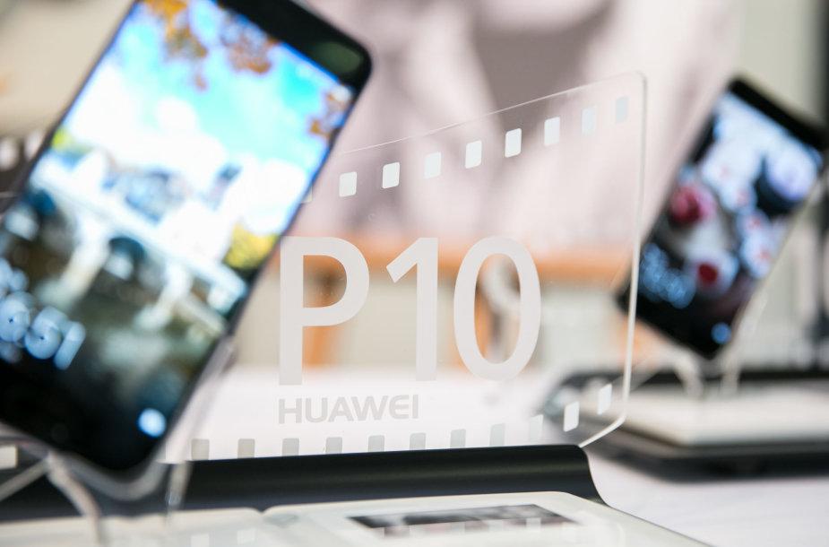 """""""Huawei P10"""" pristatymo akimirka"""