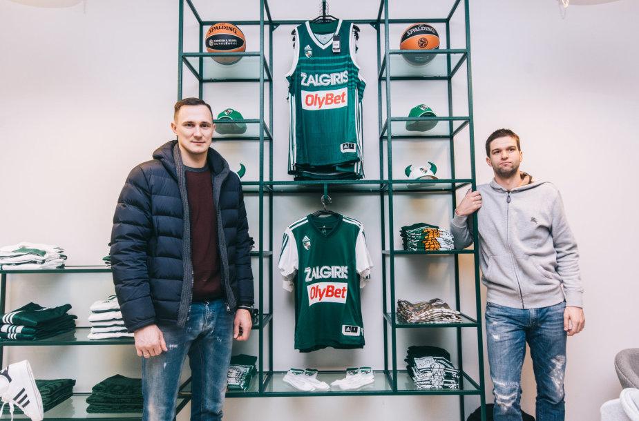 Paulius Jankūnas ir Mantas Kalnietis
