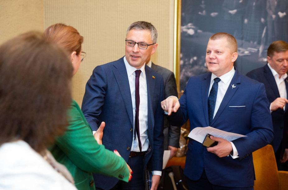 Vytautas Bakas, Dainius Gaižauskas