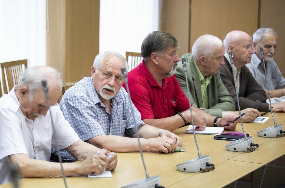Visuomeninės tarybos prie Laisvės kovų ir valstybės istorinės atminties komisijos posėdis