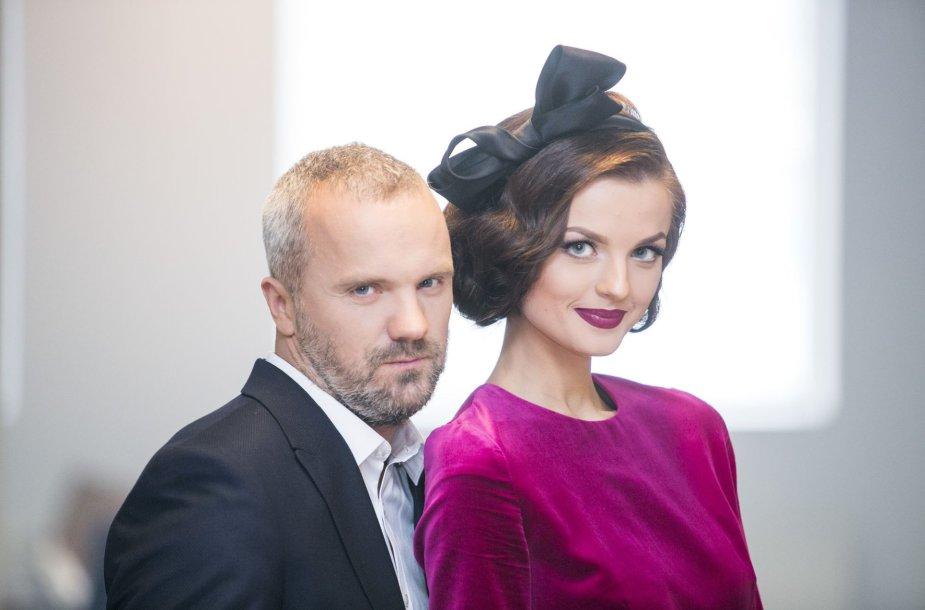 Giedrius Savickas ir Gabrielė Martirosianaitė