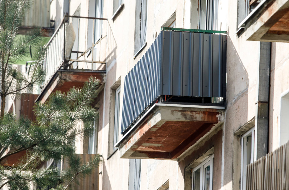 Daugiabučio balkonai