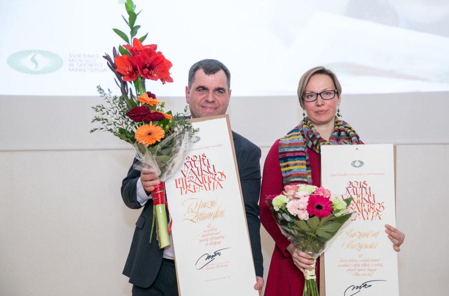 Juozas Žitkauskas ir Kazimiera Kazijevaitė