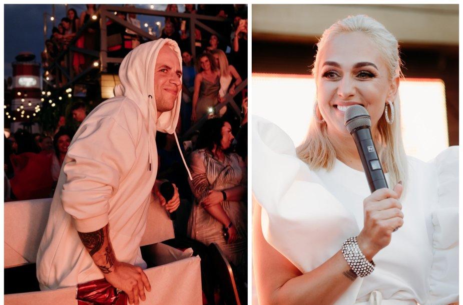 Vidas Bareikis ir Indrė Stonkuvienė
