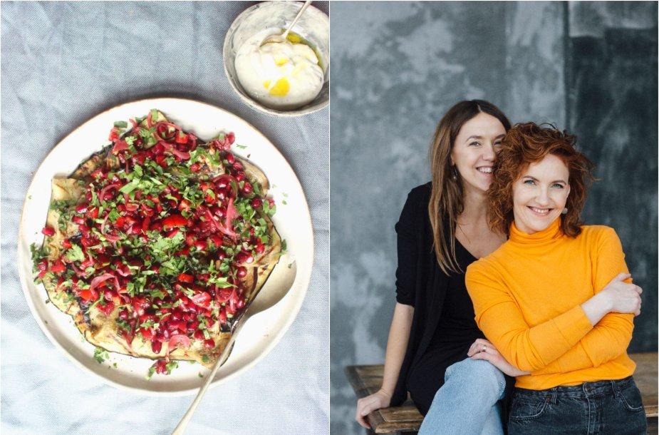 Tinklaraštininkės Rūta ir Asta bei jų ruoštas patiekalas