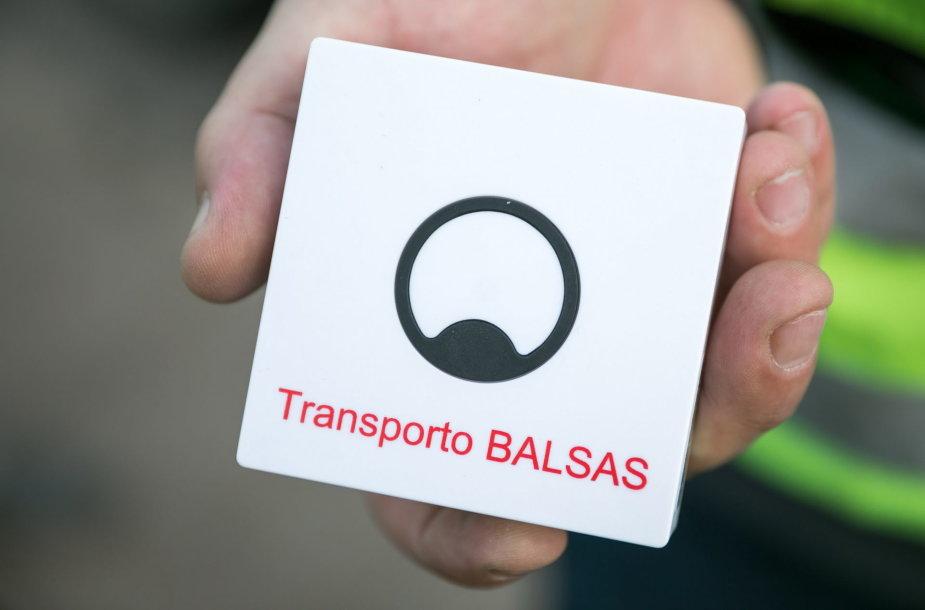 Transporto balsas