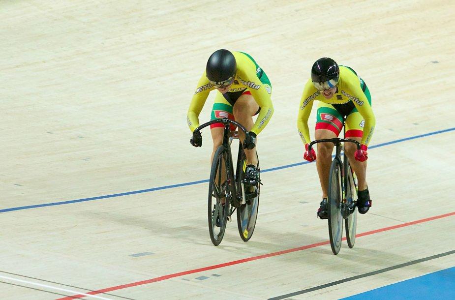 S.Krupeckaitė ir M.Marozaitė užėmė ketvirtą vietą komandinio sprinto rungtyje.