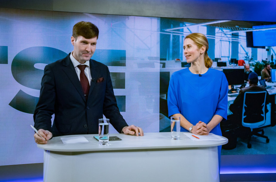 Martinas Helme ir Kaja Kallas