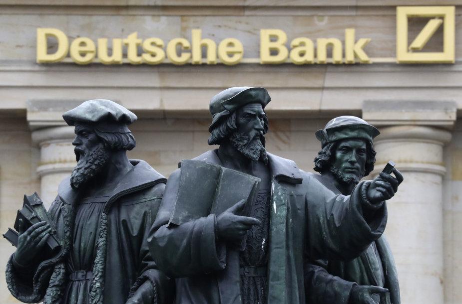 """Deutsche Bank"" problemos gali virsti didžiule krize"
