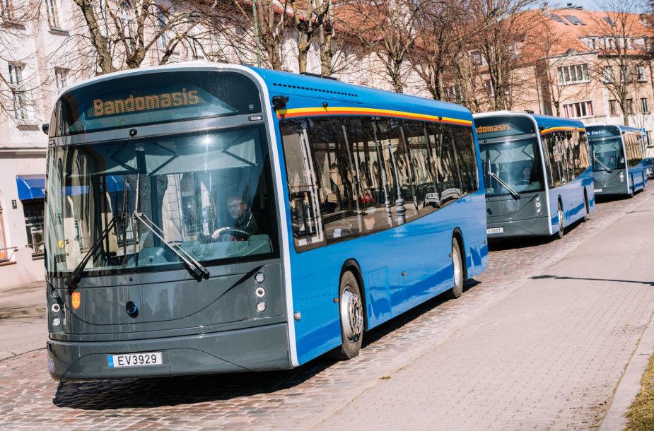 """""""Dancer"""" elektrinis autobusas"""