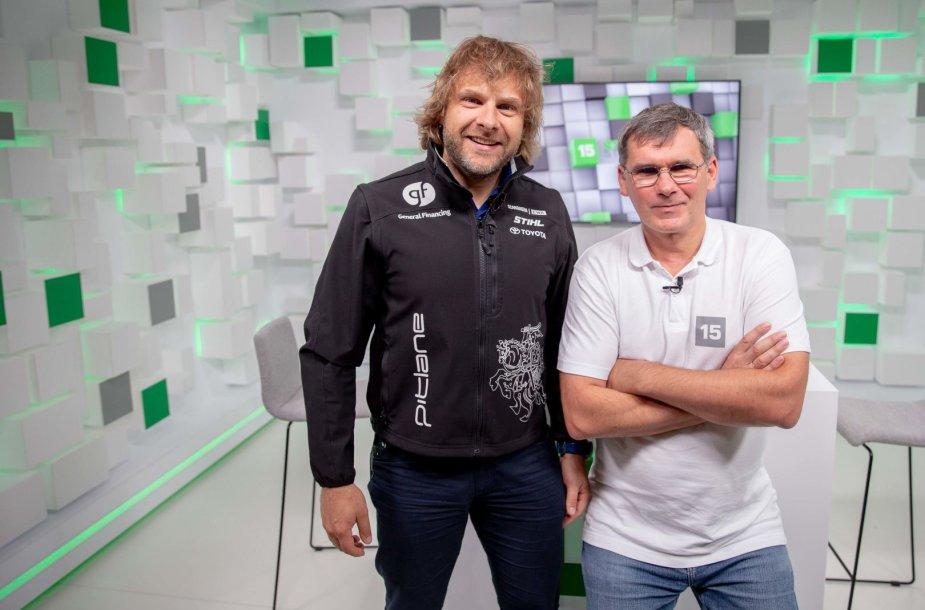 15min studijoje – pokalbis su lenktyninku Benediktu Vanagu