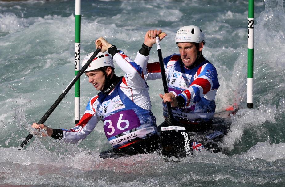 Pasaulio baidarių ir kanojų slalomo čempionatas
