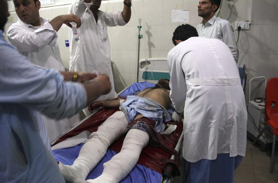 Sužeistasis po sprogimo Afganistane