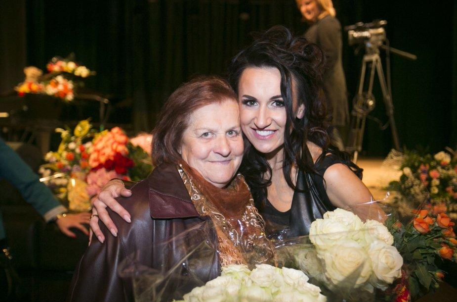 Katažina su mama