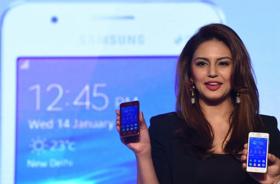 """""""Samsung Z1"""" pristatymas"""