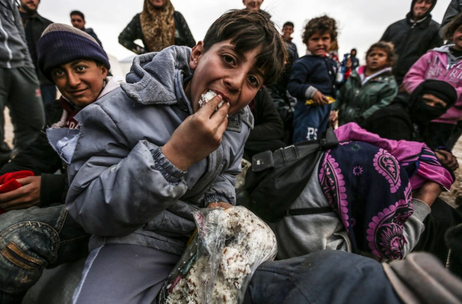 Sirijos pabėgėlių stovykla Turkijoje