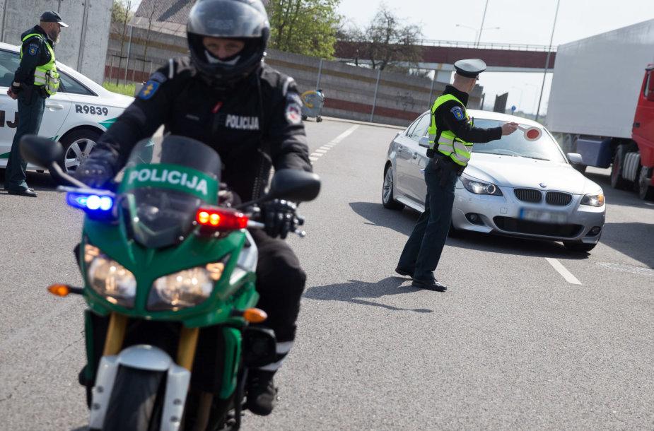 Specialus kelių policijos reidas