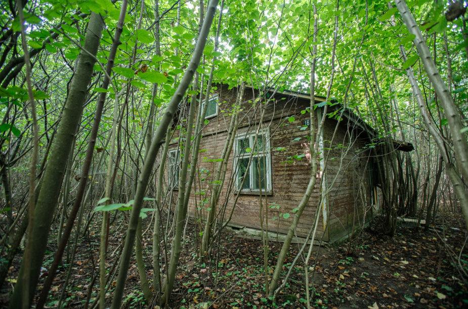 """Buvusi stovykla """"Kauno marios"""""""