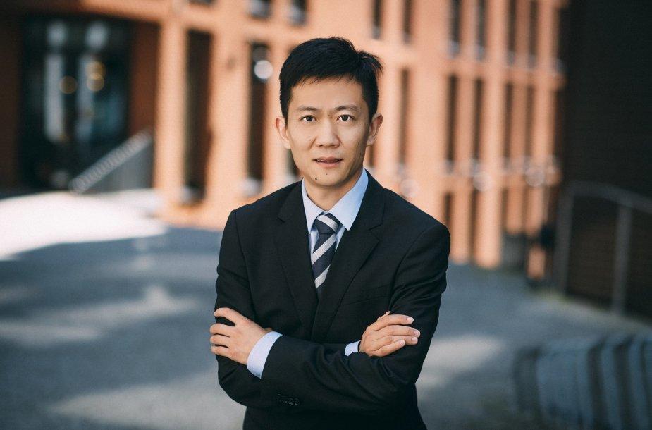 """Ricky Chen, """"Huawei"""" vadovas Baltijos šalyse"""