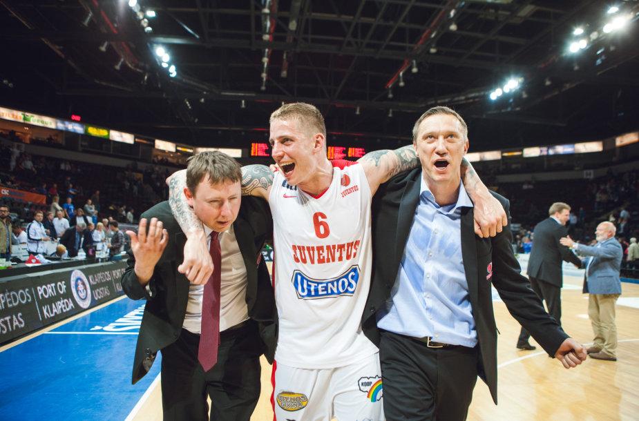 Eimantas Skersis, Arvydas Šikšnius ir Žydrūnas Urbonas