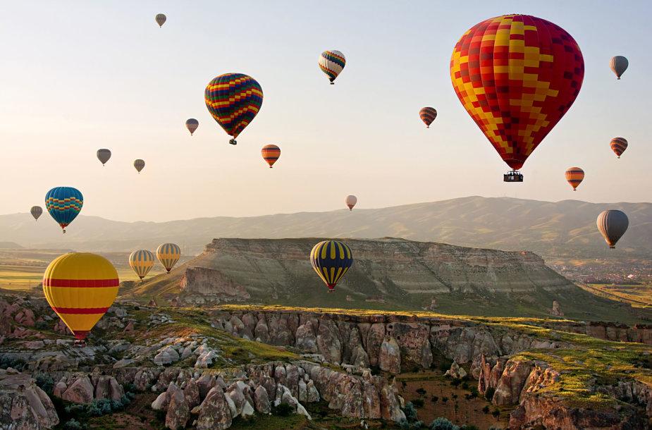 Kapadokija, Turkija