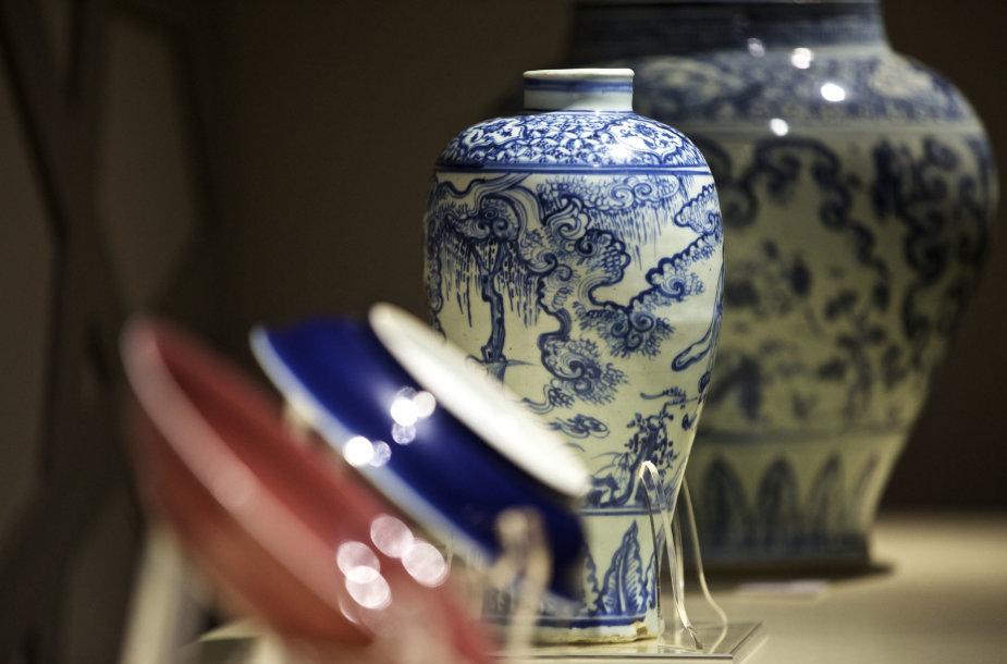 Porceliano indų ekspozicija