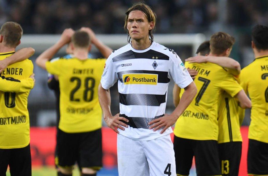 """""""Borussia"""" iškovojo pergalę"""