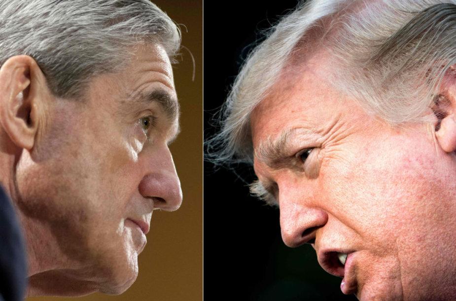 Robertas Muelleris ir Donaldas Trumpas