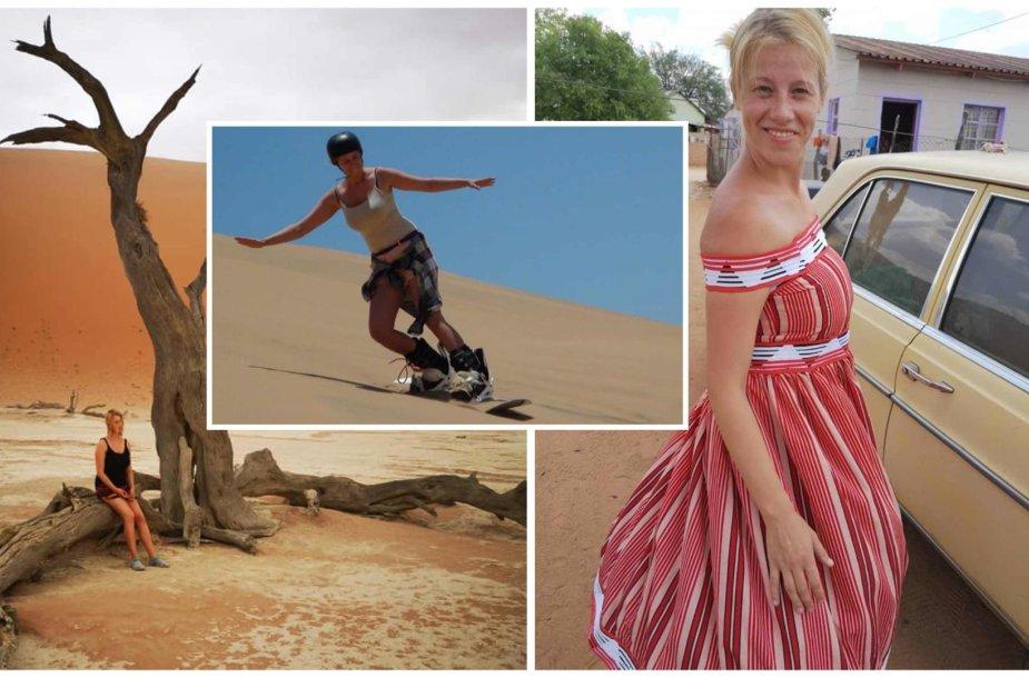 Emilijos Latėnaitės kelionės po Namibiją akimirkos
