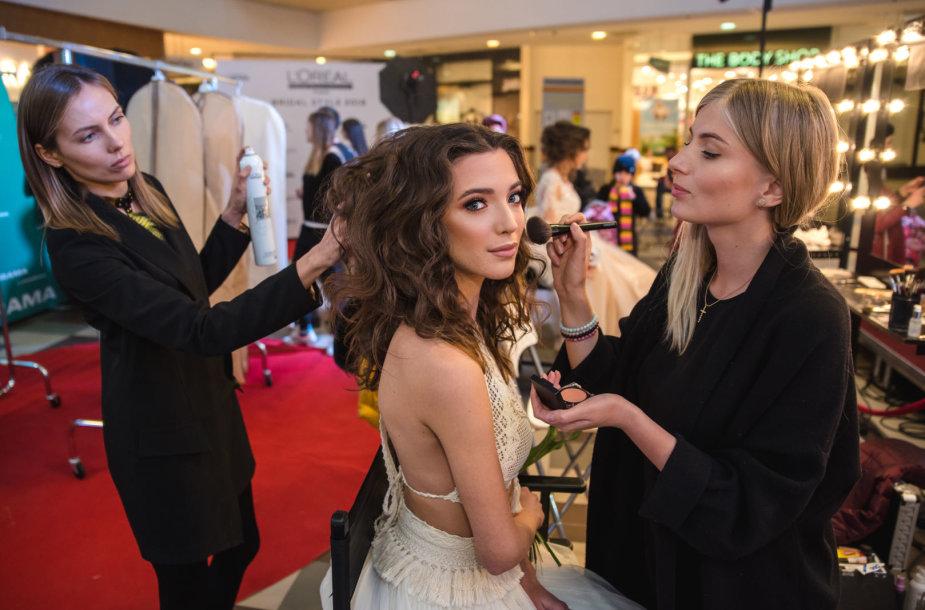 """L`Oréal Professionnel Baltic Bridal Fashion Show"" nuotakos stiliaus performansas"