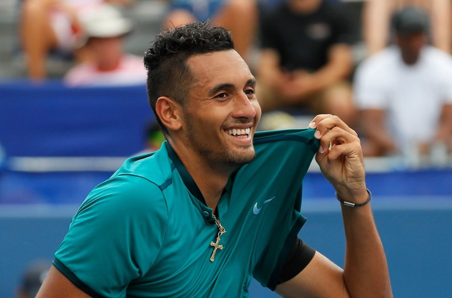 """BB&T Atlanta Open"" turnyre triumfavo Nickas Kyrgiosas"