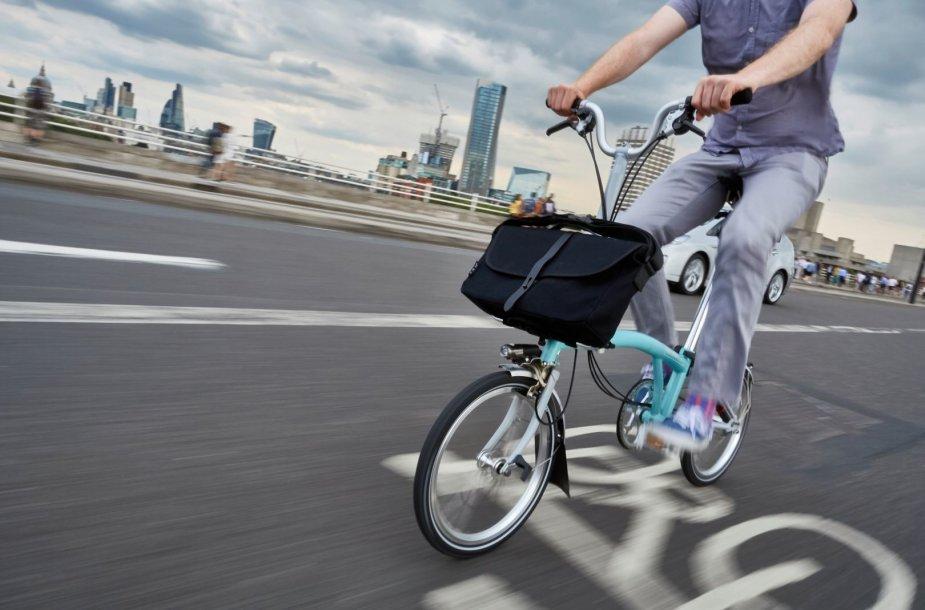 """""""Brompton"""" dviratis"""