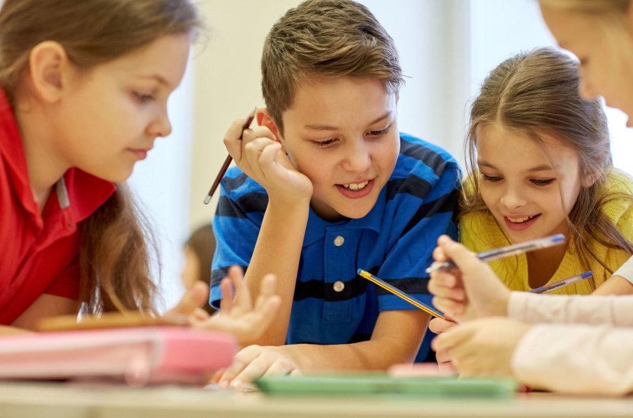 Vaikai klasėje