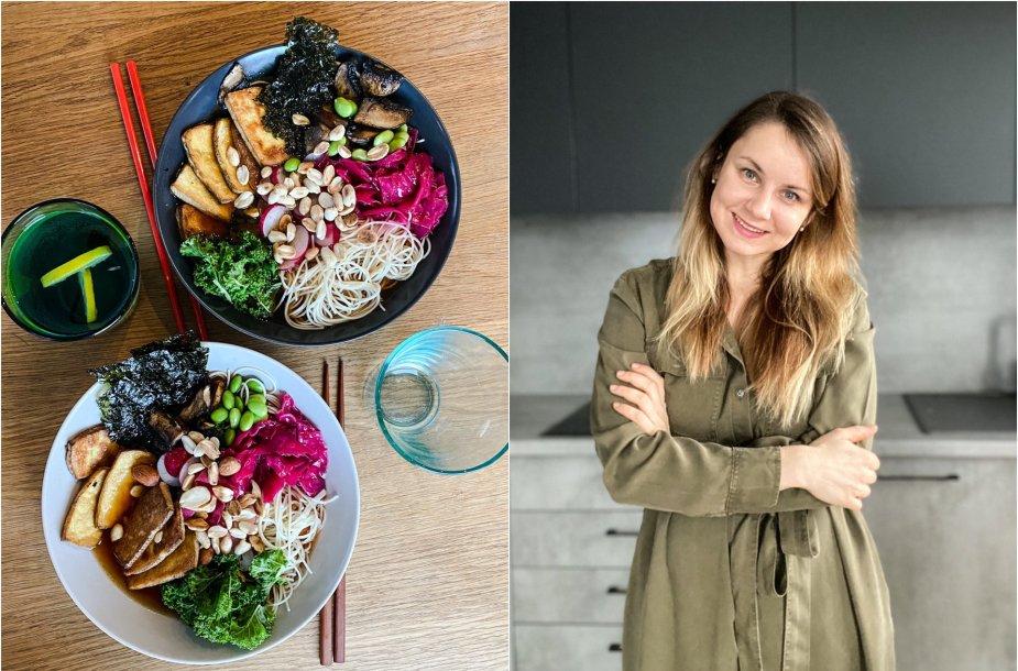 Laura Čekanavičienė neatsistebi atradimais virtuvėje, pradėjus maitintis veganiškai
