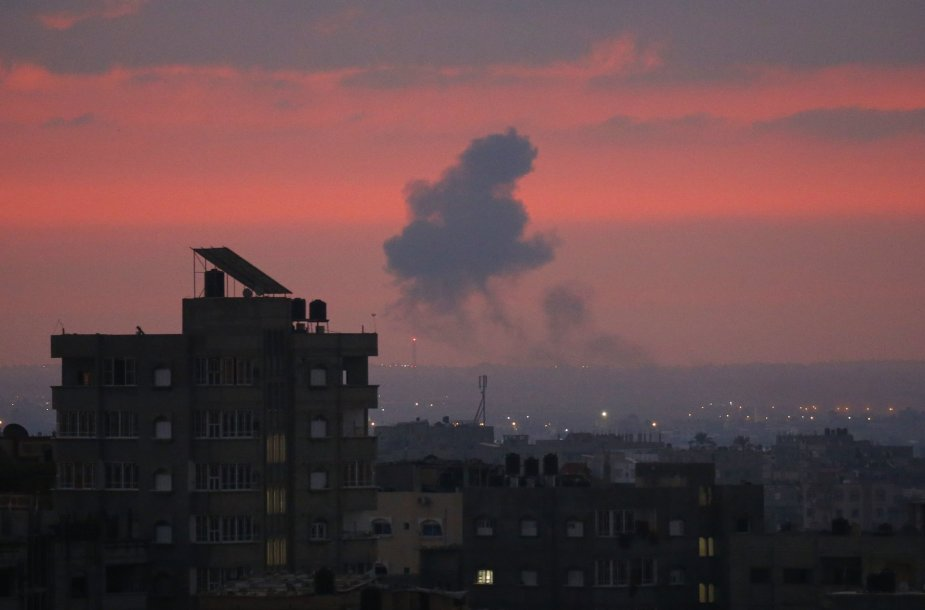 Izraelio oro smūgiai