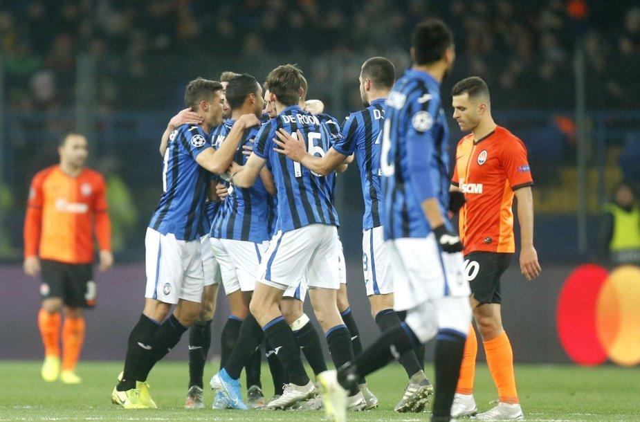 "Bergamo ""Atalanta"" futbolininkai"