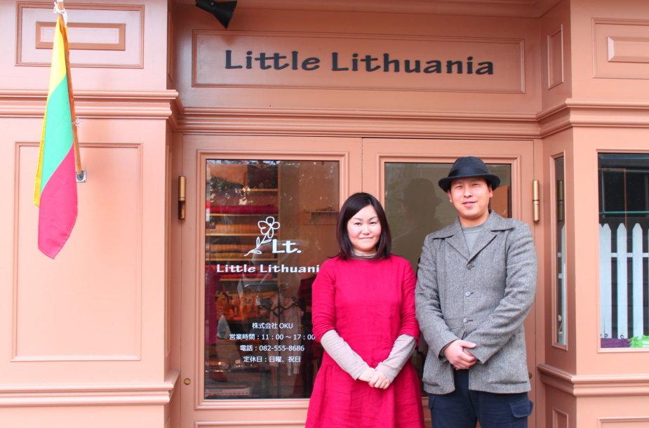Kishiko Okuno su vyru