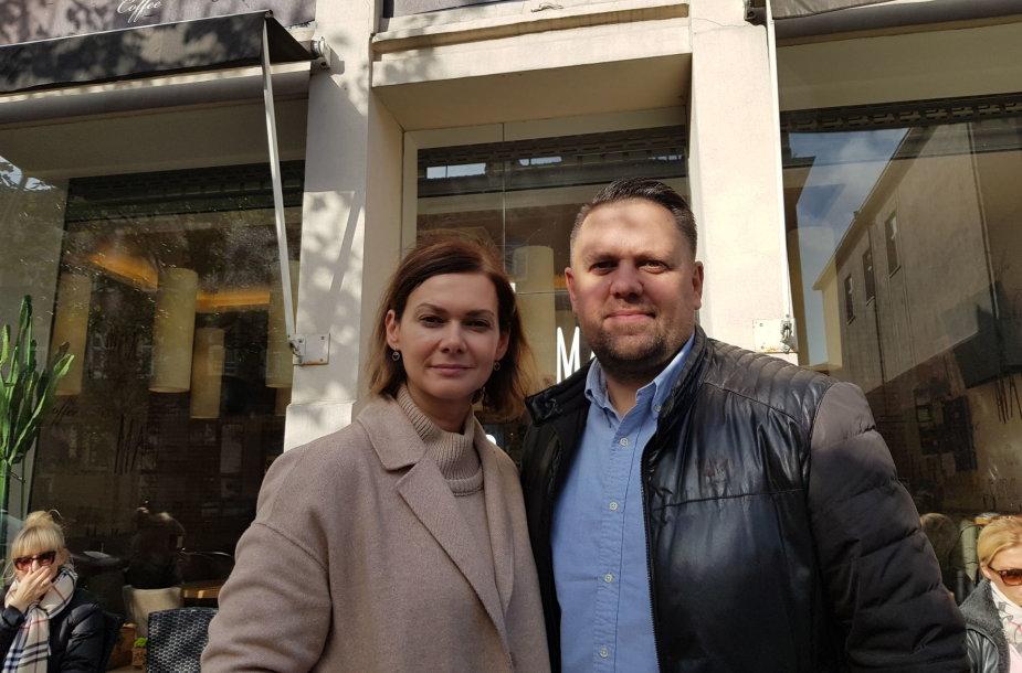 Renata ir Audrius Statkevičiai