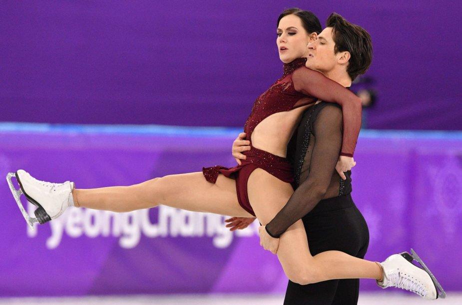 Tessa Virtue ir Scottas Moiras tapo olimpiniais čempionais