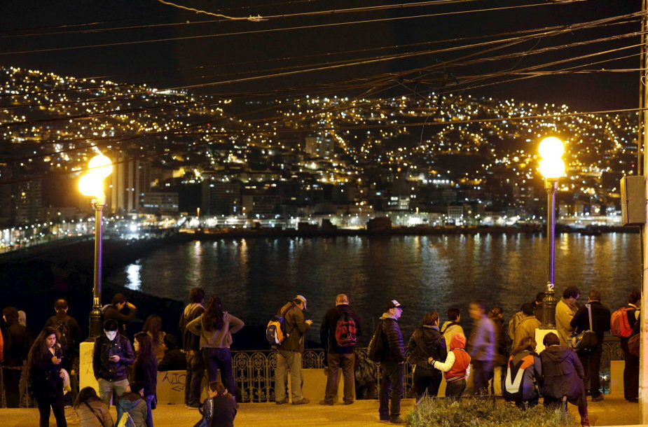Žemės drebėjimas Čilėje