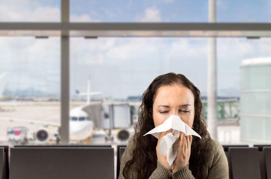 Skristi peršalus nėra geras sprendimas