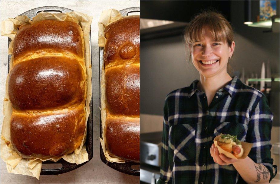 Tinklaraštininkė Laura ir jos kepta duona