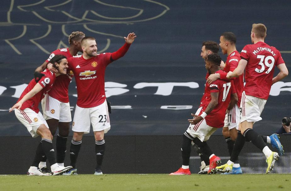 """Manchester United"" triumfas"